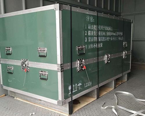铝合金箱安全包装